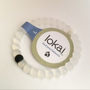 Classic Clear Lokai! Many Sizes are Available!